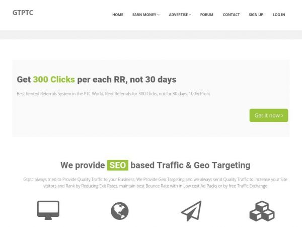 Gtptc - Get Paid to Click | Gtptc