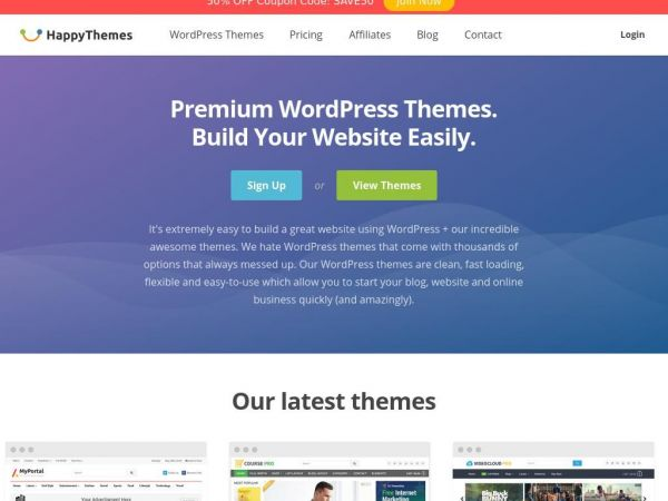 Premium WordPress Themes - HappyThemes