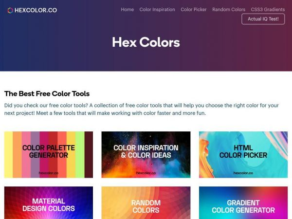 Hex Colors - HTML Color Codes