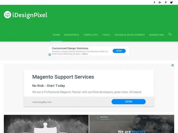 iDesignPixel - WordPress Themes, Plugins & Design Inspirations