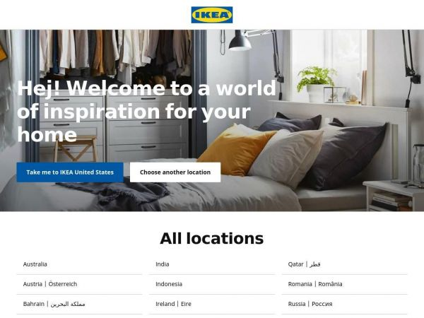 IKEA.com – International homepage – IKEA