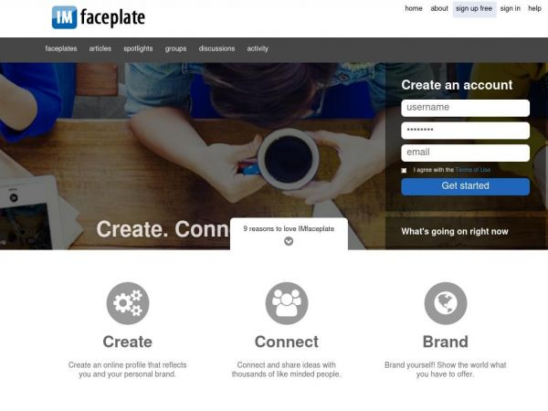 imfaceplate.com - social network marketing | FREE online branding with IMfaceplate