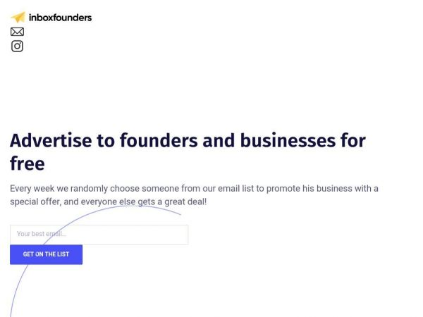 inboxfounders.com | Weekly Newsletter