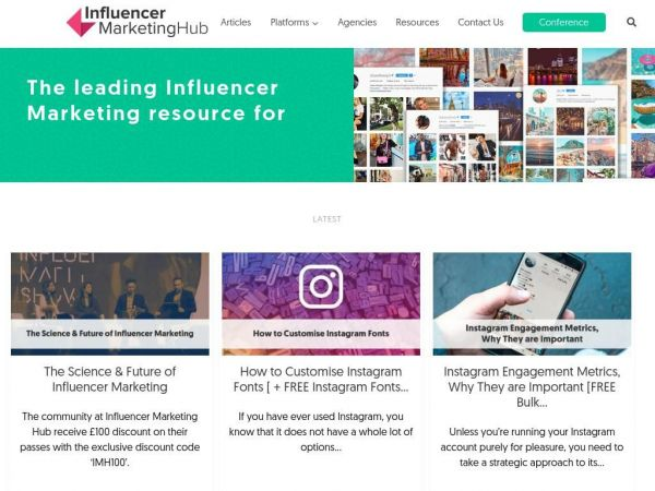 Influencer Marketing | #1 Platform, Agency & Influencer Resources