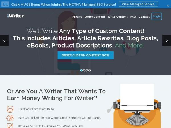 iWriter: content & Article Writing Service