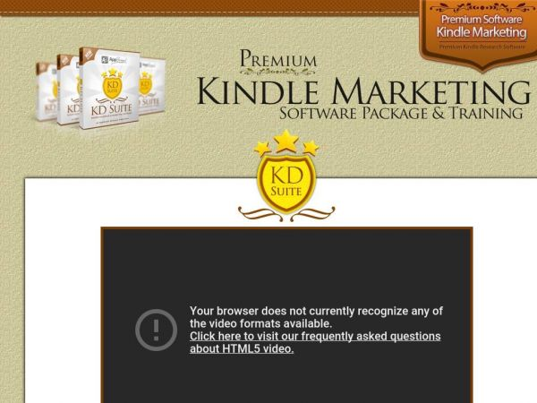 KDSuite.com | 3-in-1 Kindle Research Software | Special Discount Offer