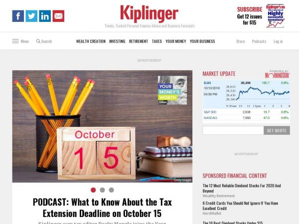 kiplinger.com - Personal Finance News, Investing Advice, Business Forecasts