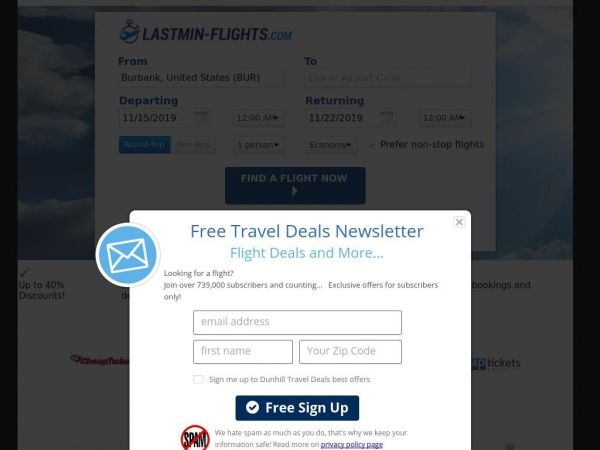 Cheap Flights - Compare rates and Save!