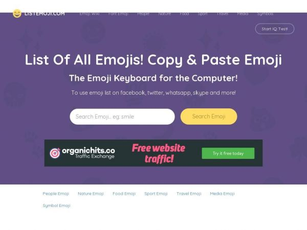 List of all Emojis - Copy & Paste Emoji | The Emoji Keyboard for the Computer!