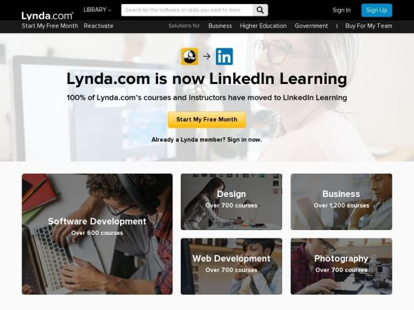 Lynda.com: Online Video Tutorials & Training