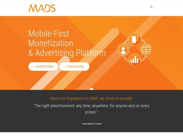 MADS Mobile-First Advertising Platform – MADS