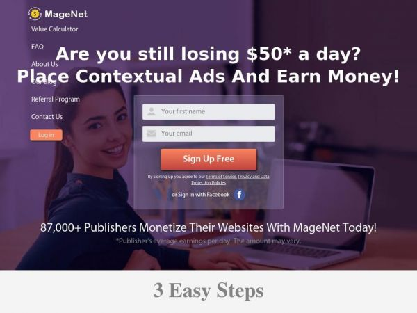Magenet - Website Monetization - Earn Money from Website with Ads