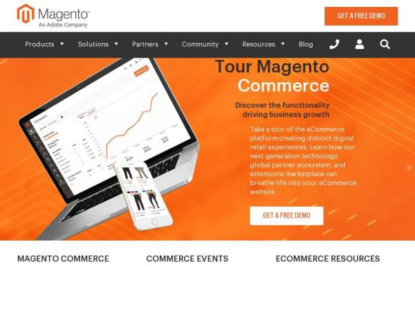 eCommerce Platforms | Best eCommerce Software for Selling Online | Magento