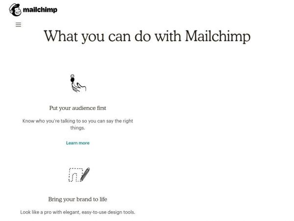 Marketing Platform for Small Businesses - Sell More Stuff | MailChimp