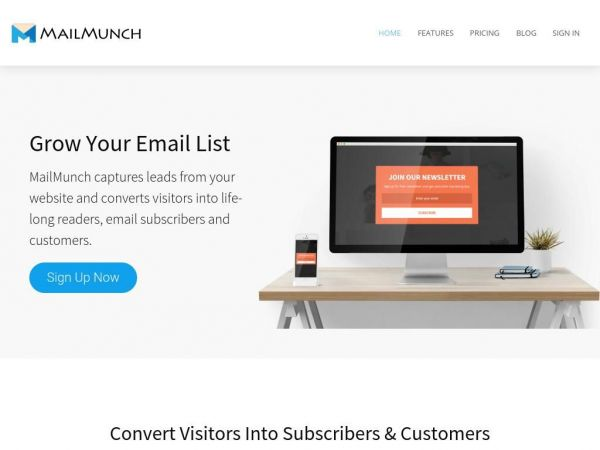 MailMunch - Grow Your Email List