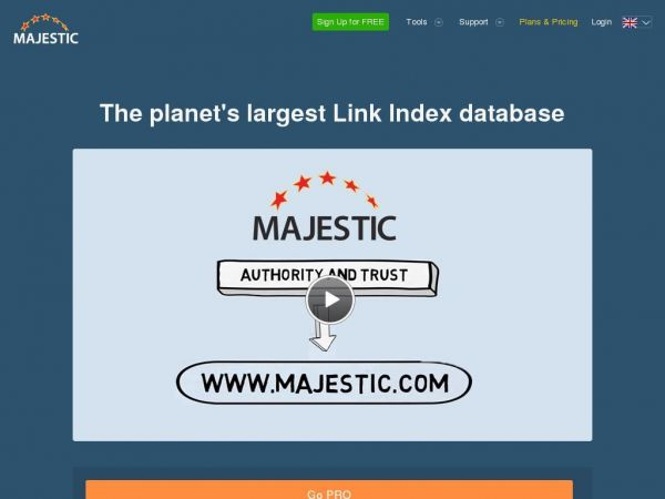 Majestic®: Marketing Search Engine and SEO Backlink Checker