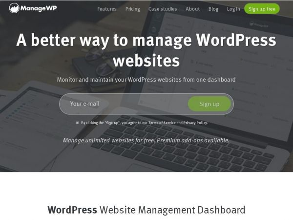managewp.com - ManageWP – Manage WordPress Sites from One Dashboard