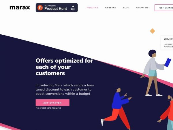 Marax AI | Stop losing money on discount marketing campaigns
