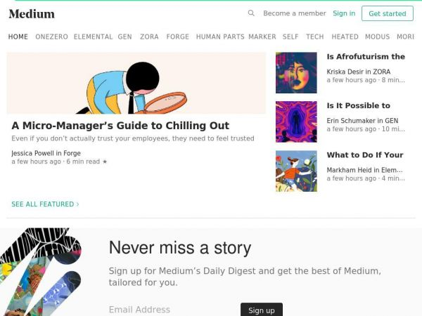 medium.com - Medium – a place to read and write big ideas and important stories