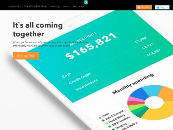 Mint: Money Manager, Bill Pay, Credit Score, Budgeting & Investing