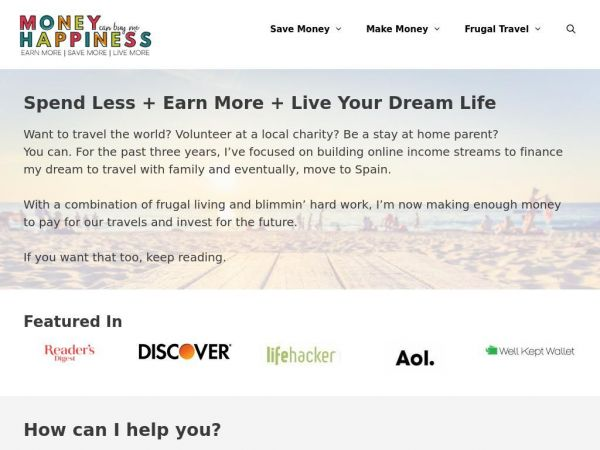 Earn More. Spend Less. Build Your Dream Life - Personal Finance Blog
