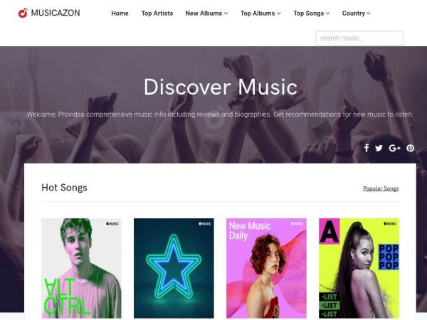 Discover Music - Musicazon!