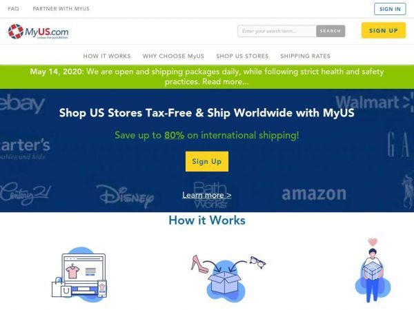 International Shipping & Shopping | MyUS.com