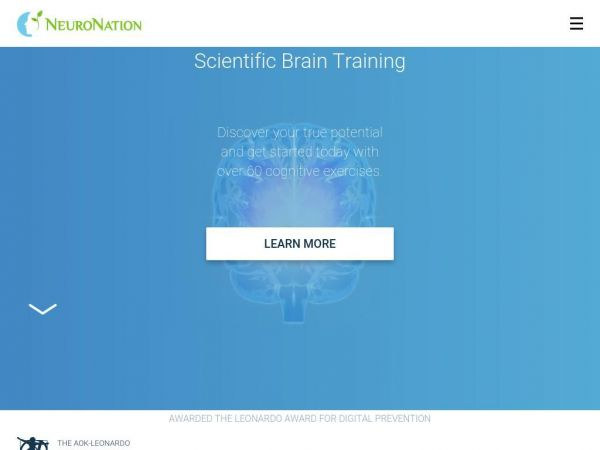 The fitness studio for your brain / NeuroNation