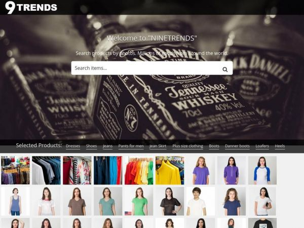 Search products by photos - NineTrends
