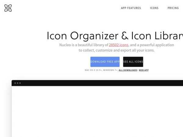 Icon Organizer & Icon Library