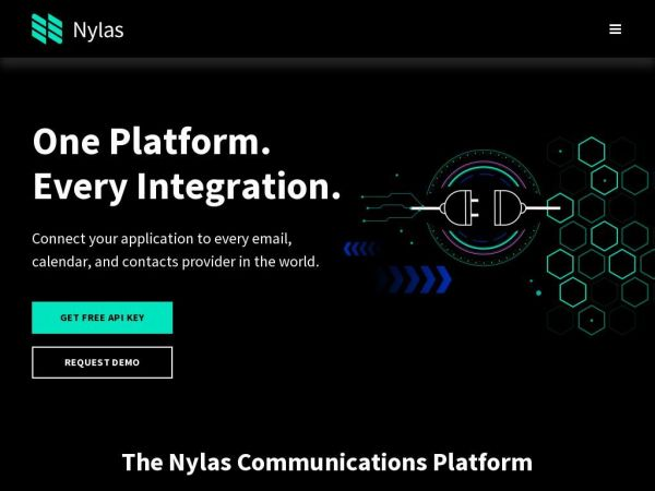 The Nylas API | Email sync, calendar sync and contacts sync from any inbox in the world