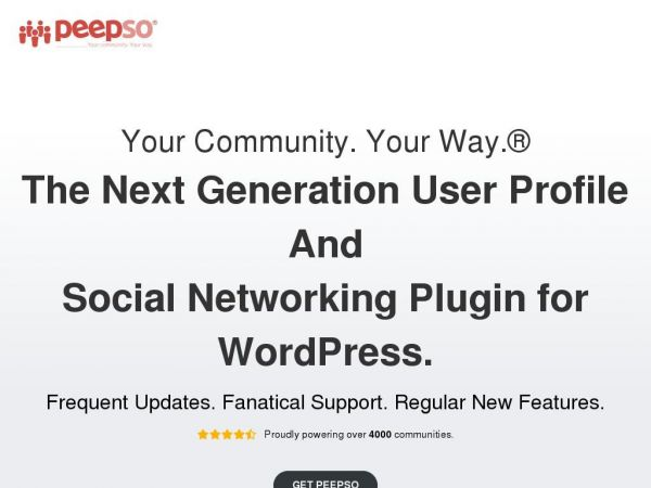 PeepSo | Open Source Social Network Software - WordPress Plugin - Create a Private Social Network