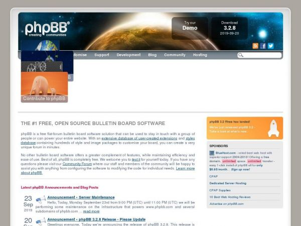 phpBB • Free and Open Source Forum Software
