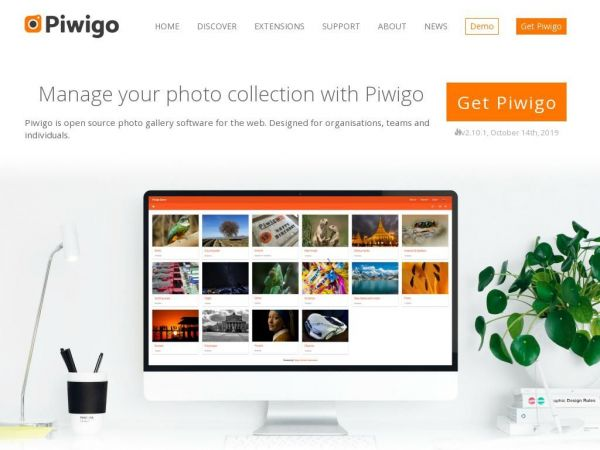 Piwigo is open source photo gallery software for the web | piwigo.org