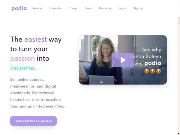 Podia - Sell Online Courses, Memberships and Downloads