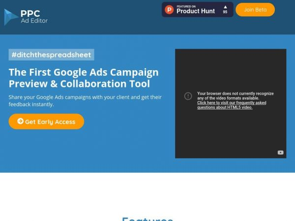 Google Ads Preview Tool | Build, Mockup & Share Ads | PPC Ad Editor