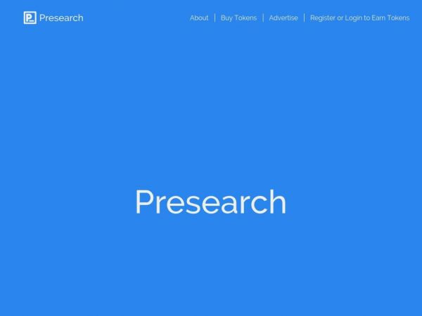 presearch.org
