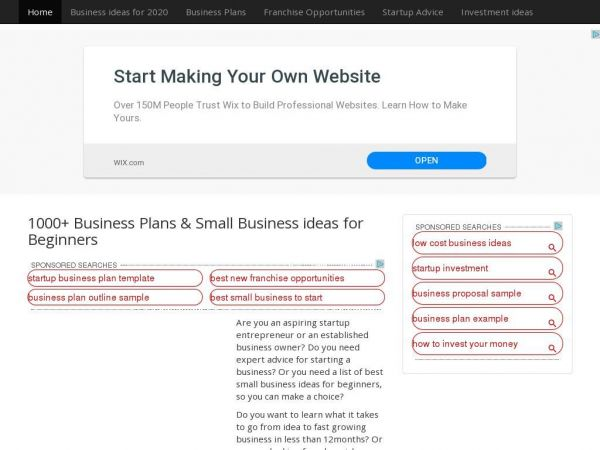 1000+ Business Plans & Small Business ideas for Beginners | ProfitableVenture
