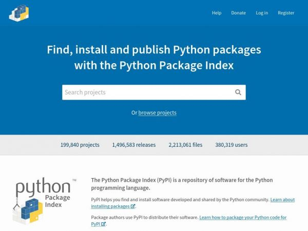 PyPI · The Python Package Index