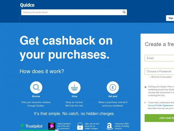 quidco.com - Quidco - The UK's #1 Cashback & Voucher Codes Site