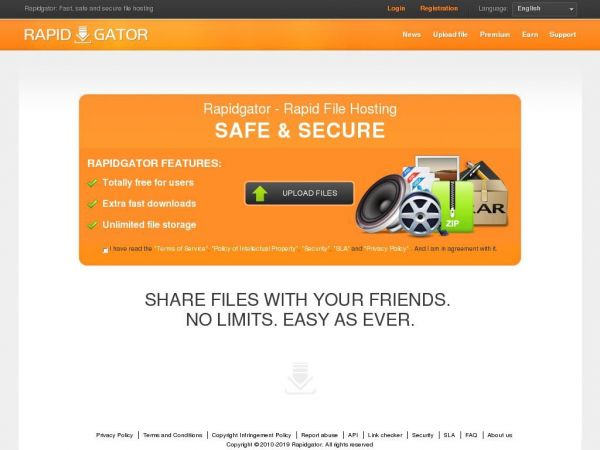 rapidgator.net - Rapidgator: Fast, safe and secure file hosting