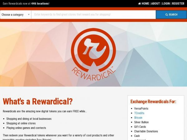 Rewardical | slightly radical rewards