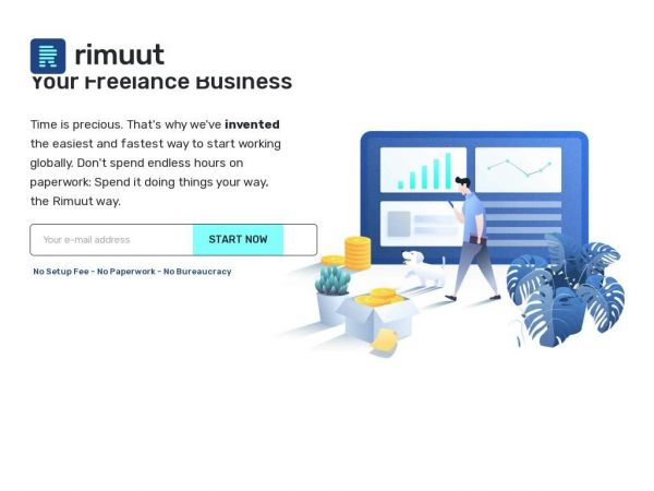 Invoice and Payment Solutions for Freelancers | Rimuut