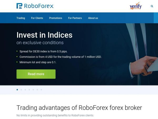 24x5 Online Forex Trading, Currency Trading Broker - RoboForex