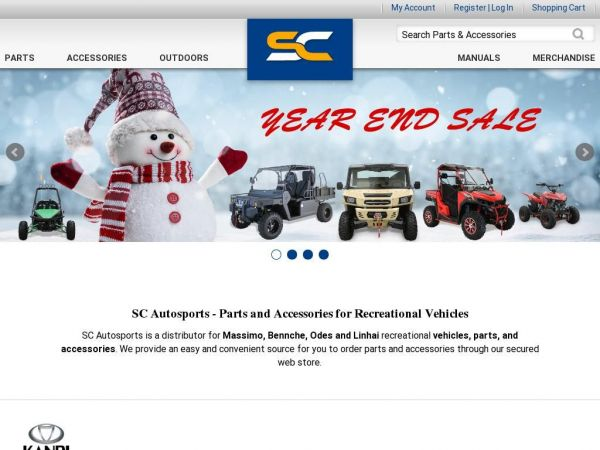 ATV Parts, UTV For Sale, Go Kart, Motocross Gear, & Mini Bikes - SC Autosports