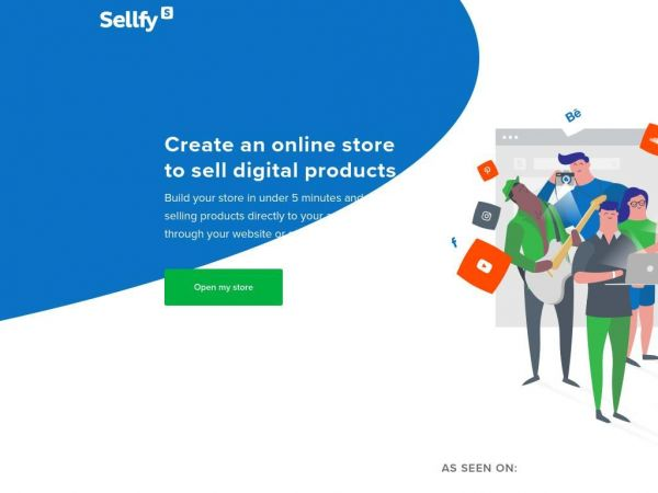 sellfy.com - Sellfy: Sell Digital Downloads & Files Online