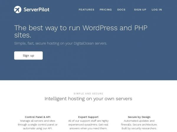 serverpilot.io PHP and WordPress Hosting on DigitalOcean - ServerPilot
