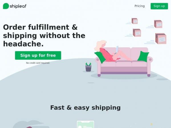 Cloud Shipping Software by ShipLeaf