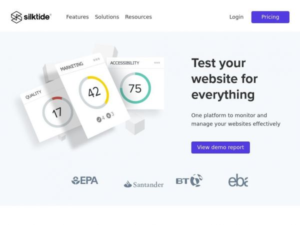 Silktide - making the web a better place