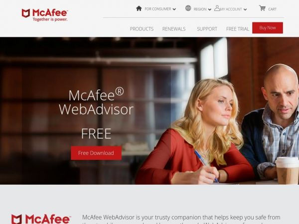 Search confidently, browse safely | McAfee WebAdvisor